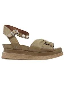 A.S. 98 A15009 sandalo da donna in pelle verde