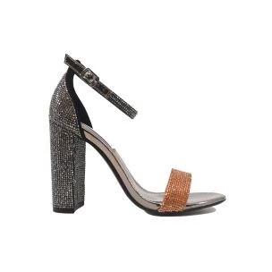 Steve Madden Carrson Pewter sandalo donna argento