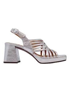 Chie Mihara Geya sandalo da donna color argento
