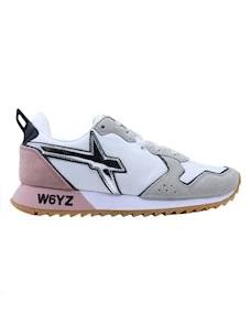 W6YZ Wizz Jet-W sneaker da donna in tessuto bianco rosa