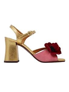 Chie Mihara Piroca Sandalo da donna in oro
