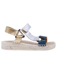 Lagoa Pola sandalo sportivo da donna in pelle