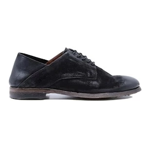 A.S. 98 U41102 scarpa allacciata da uomo in pelle nera
