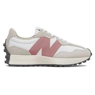 New Balance 327 sneaker in tessuto tecnico bianco
