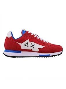 Sun68 Z31118 sneaker da uomo in rosso