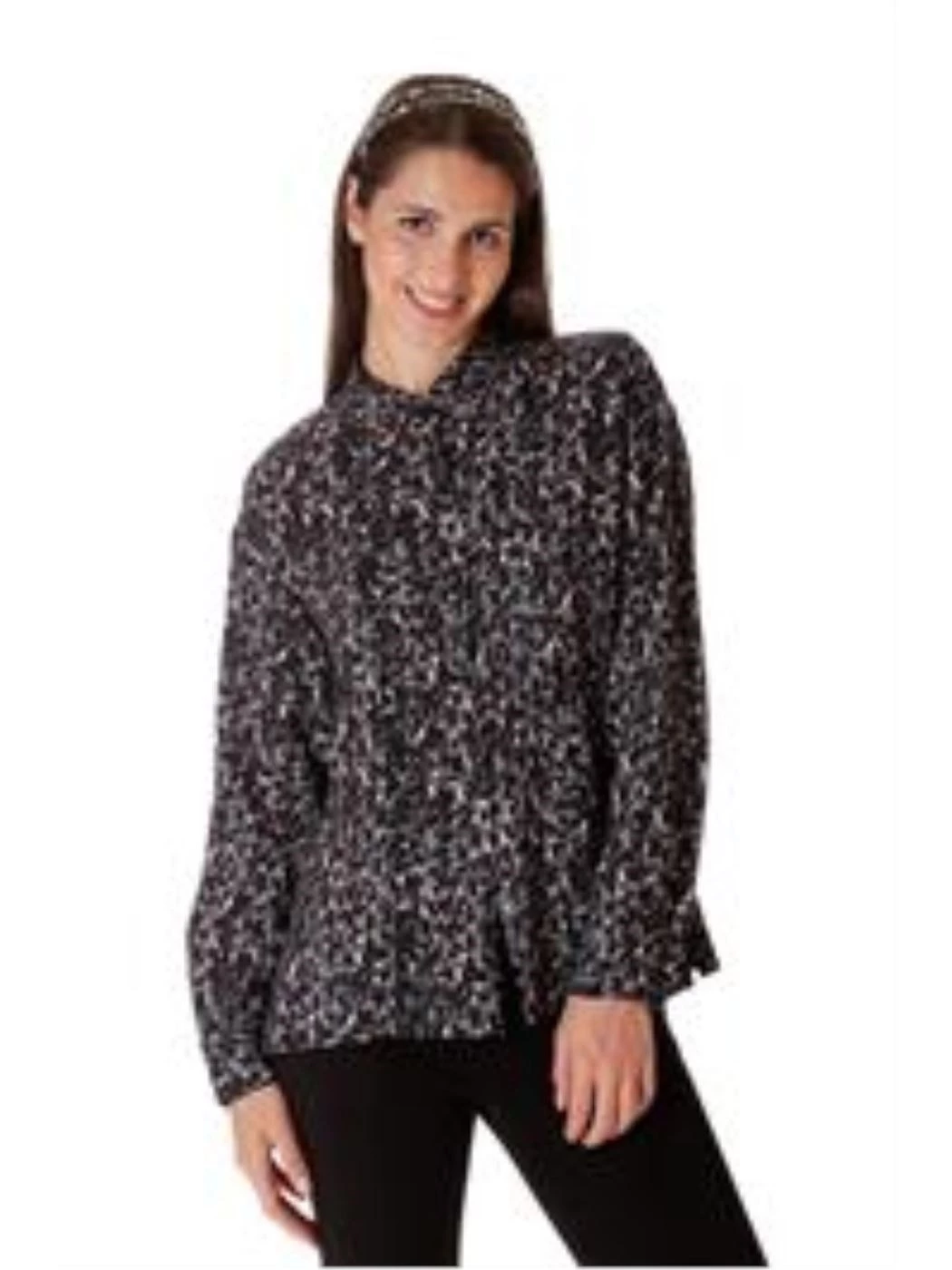 Animalier print shirt