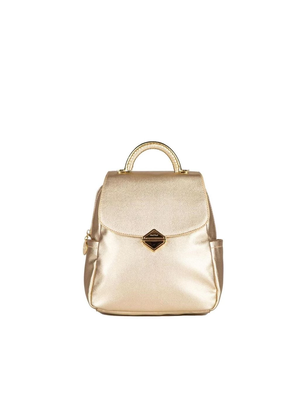 BACKPACK WITH METAL CLOSURE