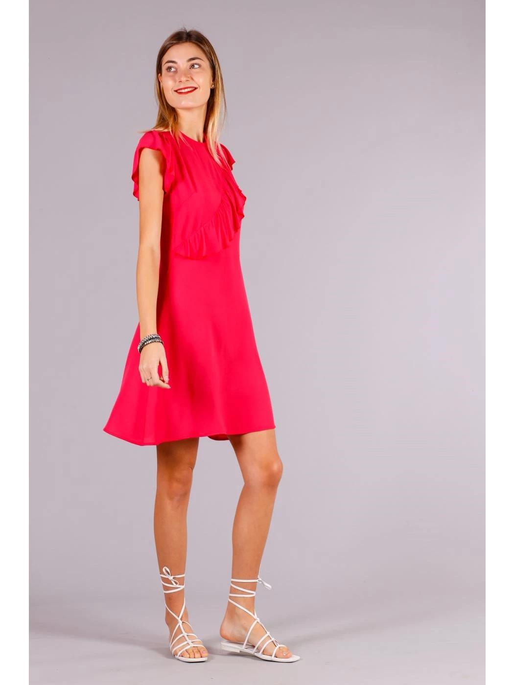 SHORT DRESS VOULANT