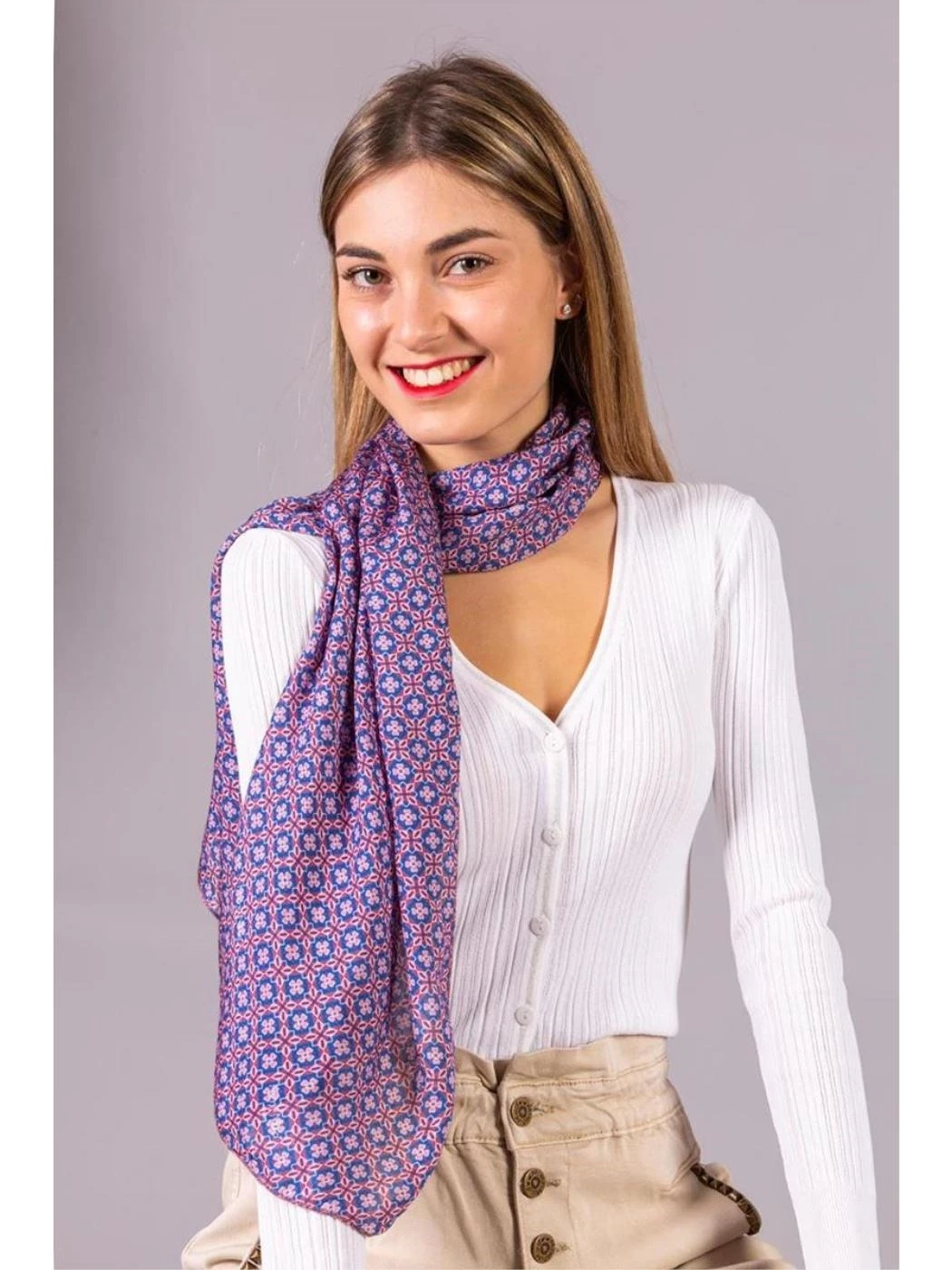 ABSTRACT FANTASY SCARF