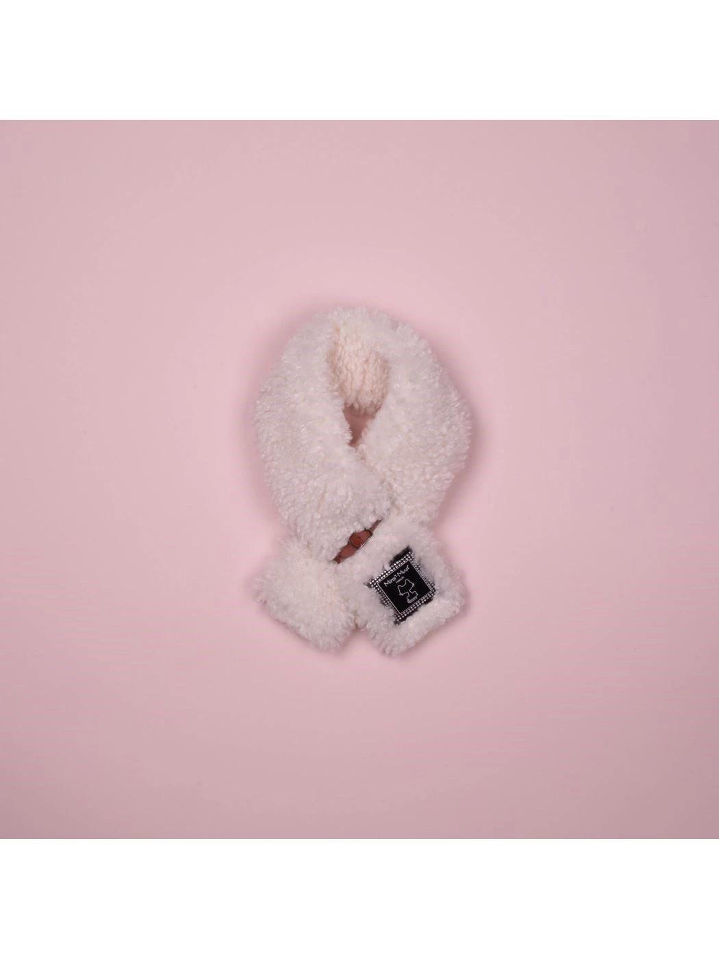 Wool effect scarf