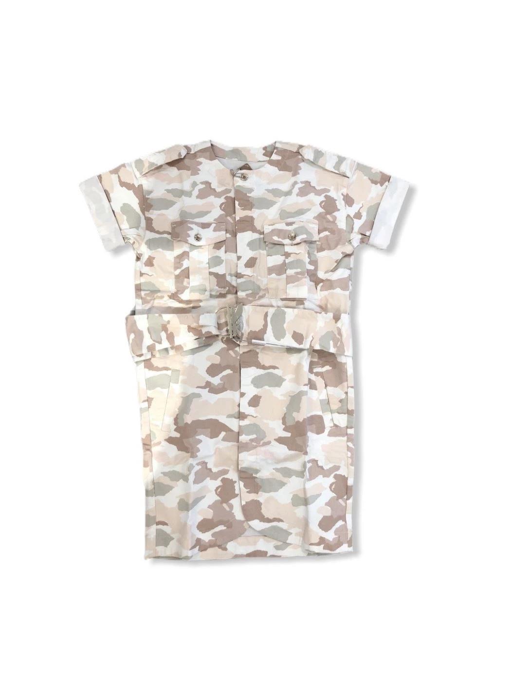 Abito con stampa camouflage 1A2044A8H8