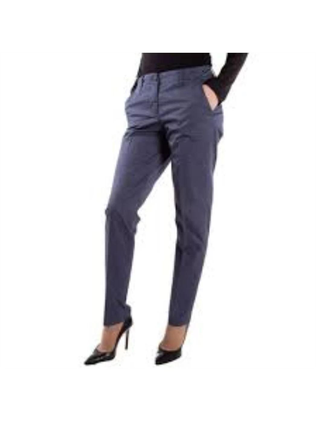 LIU JO Pantalone chino blu vestibilità regolare FA0198T2267