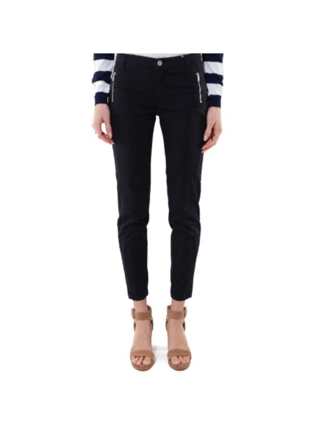 LIU JO Pantalone linea slim bottom-up WA0192T9257