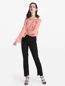patrizia pepe pantalone slim 2P1137-A3LPU