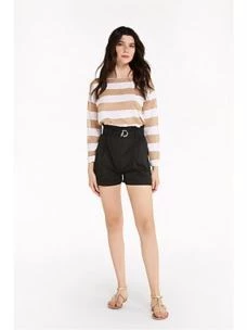 Shorts in popeline stretch   2P1256A23