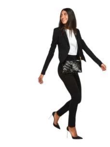 Pantalone in tessuto stretch  2P1278A1DX