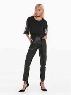 Pantalone in pelle sintetica   8L0335A1DZ