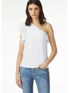liu jo t-shirt monospalla F19255J7821