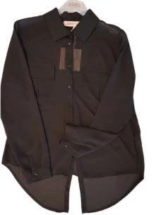 KONTATTO camicia con tasche GI901-NERO