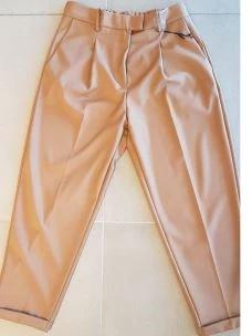 IMPERIAL pantalone classico con risvolto P9990012K