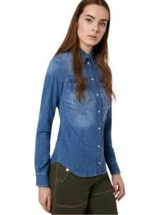 LIU JO camicia denim UA0088D4051