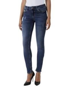 Jeans skinny con applicazioni gioiello UF0003D4534