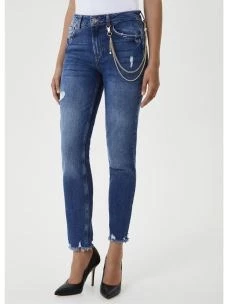 JEANS B.UP CON CATENA UF0034D4524