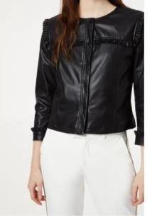 LIUJO giacca corta con rouches WA0153E0392