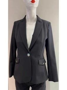 Amanda jacket in technical fabric Cristina Effe
