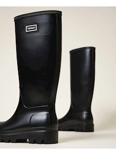 RAIN BOOTS WITH TWINSET LOGO