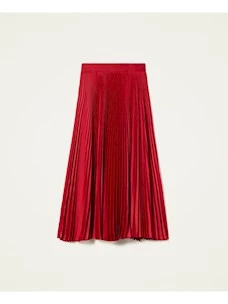 Long pleated skirt Twinset