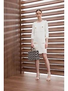 Elisabetta Franchi knitted bag dress