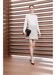 Miniskirt print micro padlocks Elisabetta Franchi