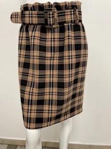 Scottish sheath skirt with belt Kate by Laltramoda