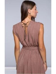 Be Limousine sleeveless short dress