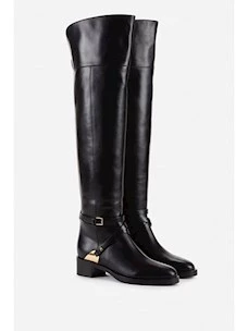 Riding boot with crossover strap Elisabetta Franchi