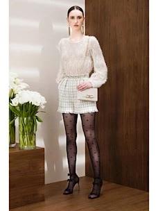 Shorts in tweed design check Elisabetta Franchi