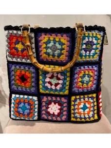 La Milanesa medium crochet handbag