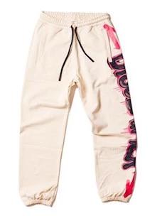 Pantalone In Felpa 100% Cotone