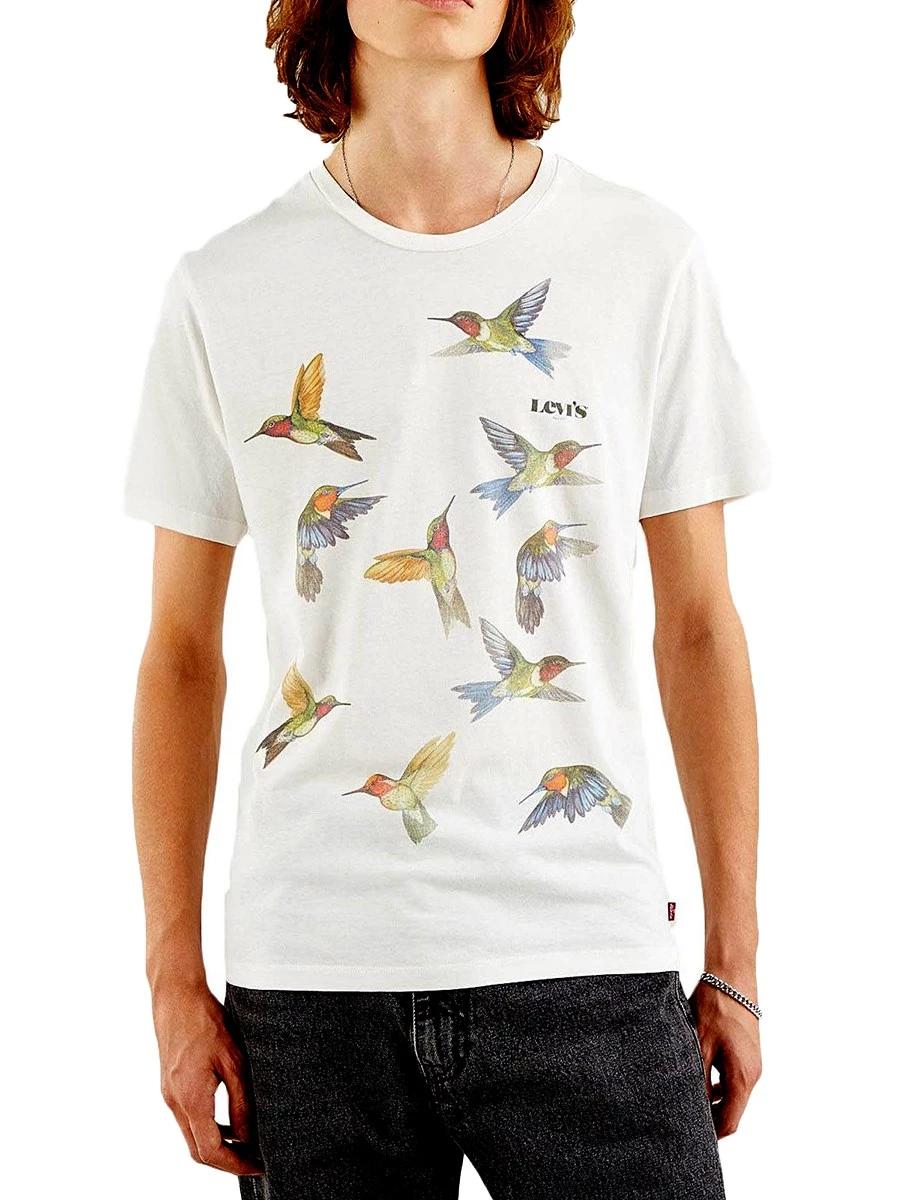 T-Shirt Levi's 22491-0829 100% Cotone Regular Fit
