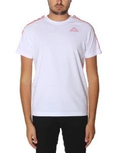 T.Shirt Kappa 222 Banda Coen Slim Cotone 100%