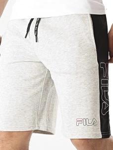 Pantalone Corto Fila 683090-I31-FULL in Felpa Cotone Garzato