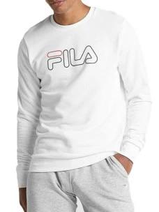 Felpa Fila 687139-M67-FULLL Cotone Garzato