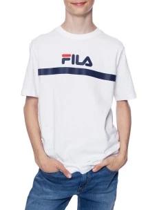 T-Shirt Fila 687674-M67-FULL-KID 100% Cotone