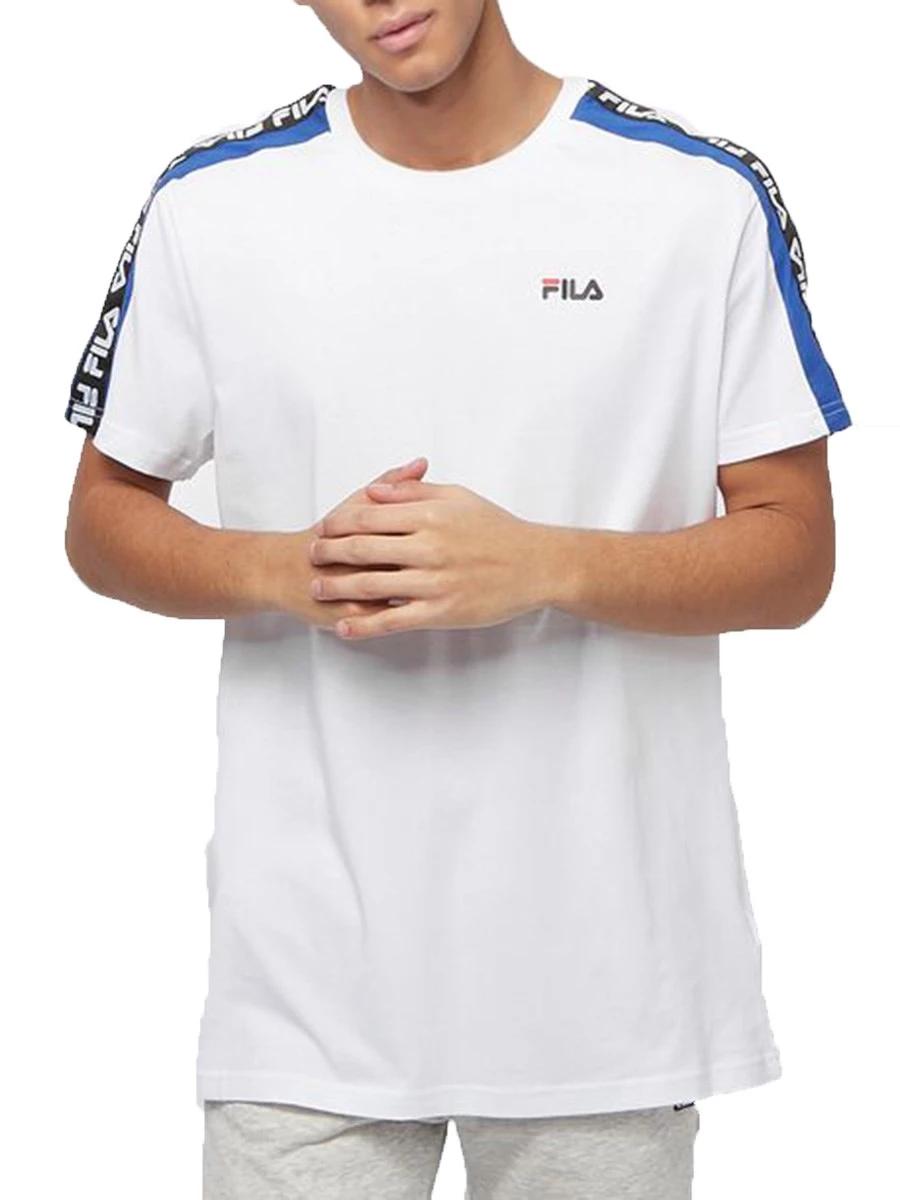 T-Shirt Fila 687700-l85-FULL Unisex Men day Tee 100% Cotone