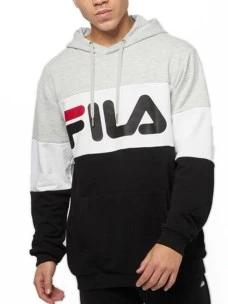 Felpa Fila 688051-A220-FULL Cotone Garzato