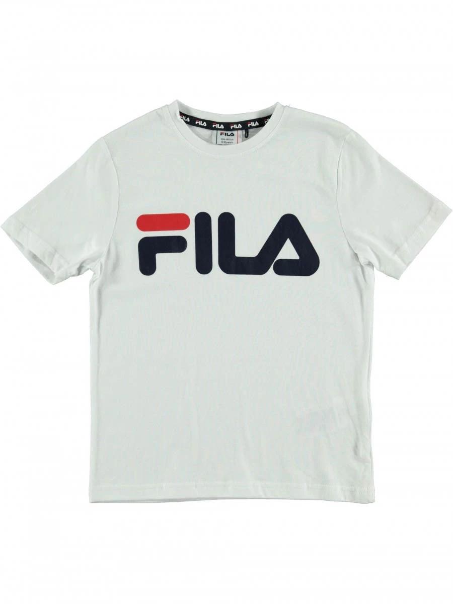 T-Shirt Fila  688139-M67-KID 100% Cotone