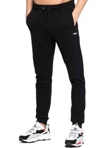Pantalone Fila 688166-B13-FULL in Felpa Unisex Cotone Garzato