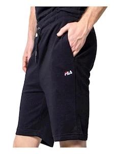 Pantalone Corto Fila 688167-002 Eldon in Felpa  Cotone Garzato