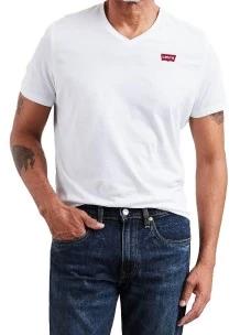 T-Shirt Levi's 85641 Scollo a V 100% Cotone Regular Fit